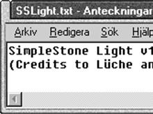 SimpleStone Light v1
