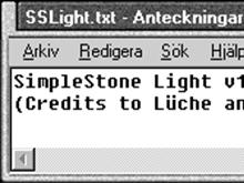 SimpleStone Light v1
