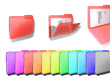 Animated Mac Folder colors