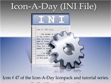 Icon-A-Day #47 (INI Files)