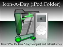 Icon-A-Day #79 (iPod Folder)