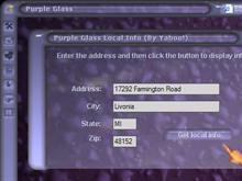 Purple Glass - Maps Module