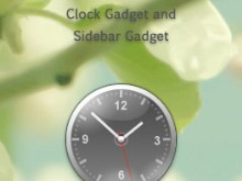 Emprise Sidebar Clock