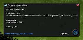 DXSystemEx Plugin