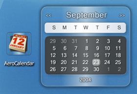 Aero Calendar Widget