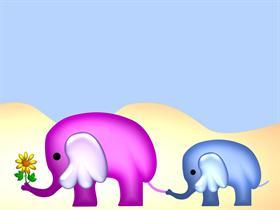 Elephants Mothers Day