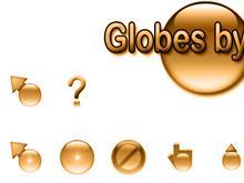 Globes by Jim - Orange