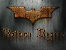 Batman Begins Walls