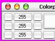 MAC OS-X Colorpad