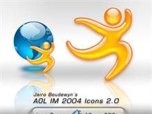 AOL IM 2004  Icons 2.0