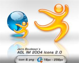 AOL IM 2004  Icons 2.0