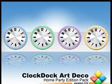 ClockDock Art Deco HomeParty Edition