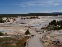Norris geyser basin-Yellowstone