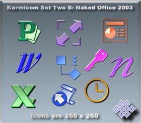 Karmicom Set Two B: Naked Office 2003