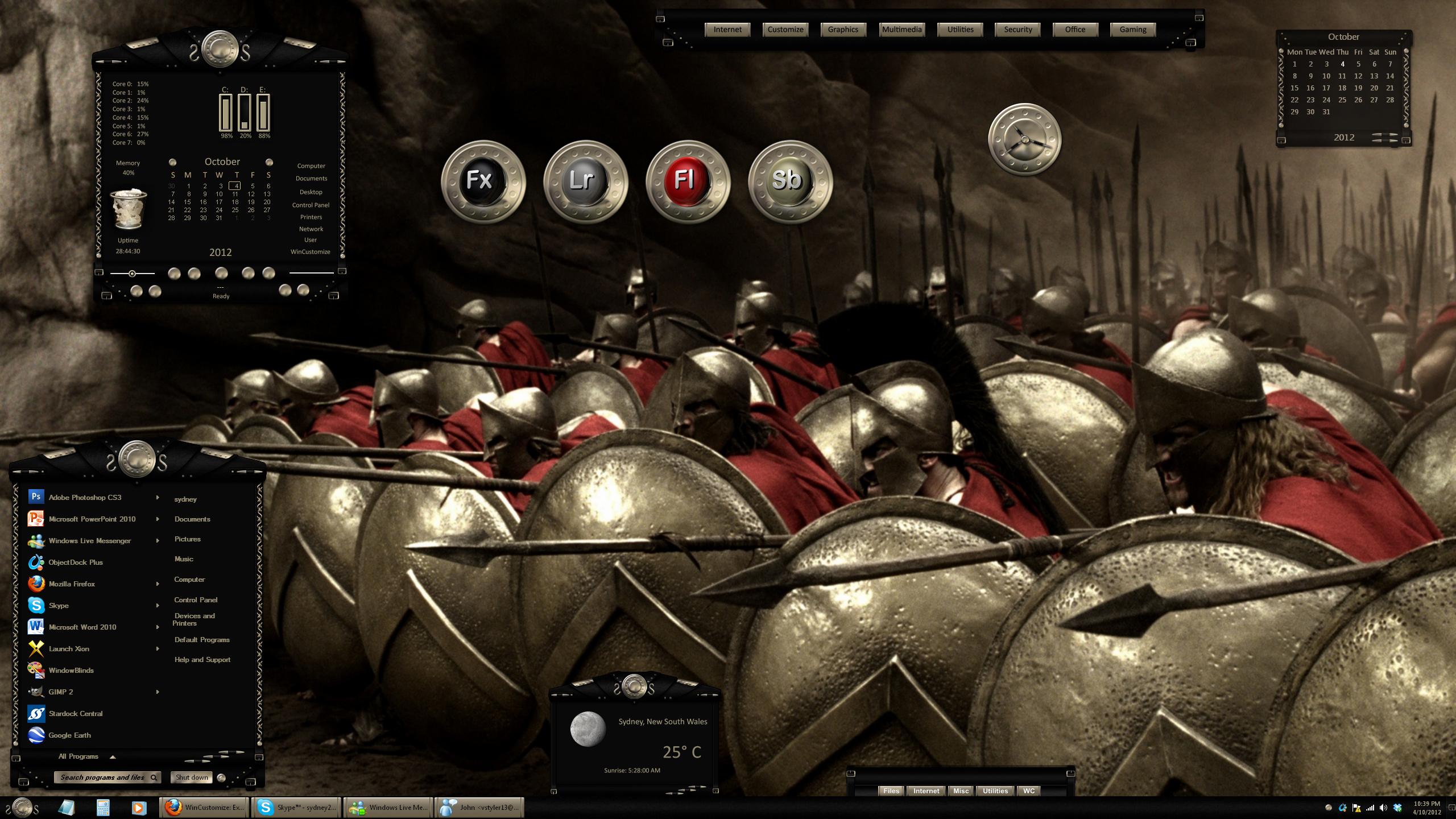 Cimmerian Battle