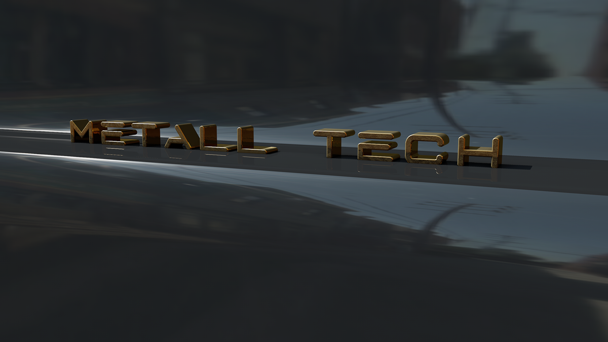 Metall tech~Blue Metal