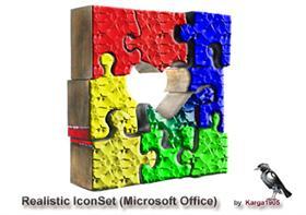 Realistic IconSet (Microsoft Office)