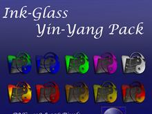 Ink-Glass Yin-Yang Pack