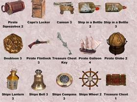 Pirate Pack 3 Dock icons