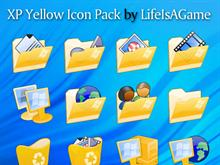 XP Yellow Icon Pack