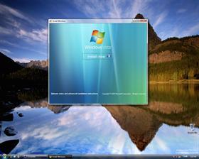 Windows Vista Install Program