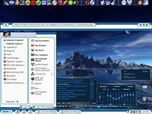 Calm Blue Desktop