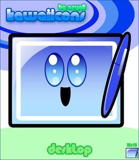Kawaiicons: desktop
