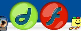 Flash & Dreamweaver Icons