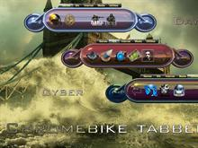 Chromebike tabbed set