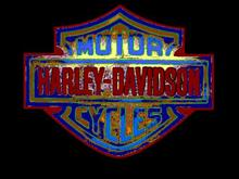 Art-Deco Harley