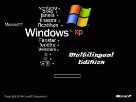 Windows XP Multilingual Edition--Updated--