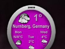 NoClock Weather