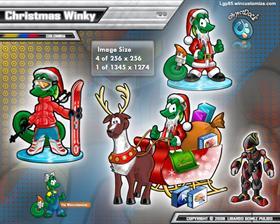 Christmas Winky