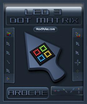 Led 3 Dot Matrix