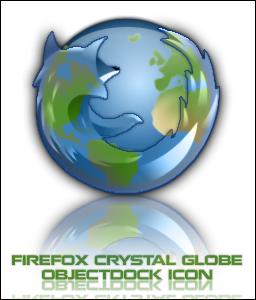 Crystal Globe Firefox Icon