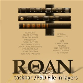 Roan WB Taskbar