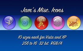 Jam's Misc. Icons - Set 2