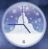 Angels Among Us Analog Clock