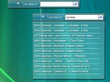 Vista Live Search
