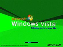 Windows Vista Green update.bootskin
