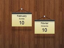 Date Language File Example
