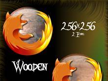 Wooden Firefox