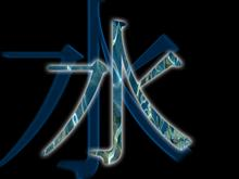 Water kanji
