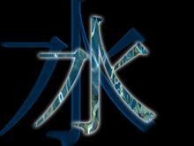 Water kanji