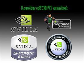 nVidia logos