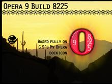 Opera9 Build 8225 Dockicon