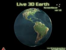 Live 3D Earth 1.8 ScreenSaver
