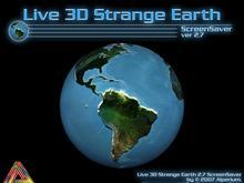 Live 3D Strange Earth 2.7