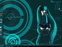 Vocaloid Desk