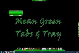 Mean Green Tabs &amp; Tray